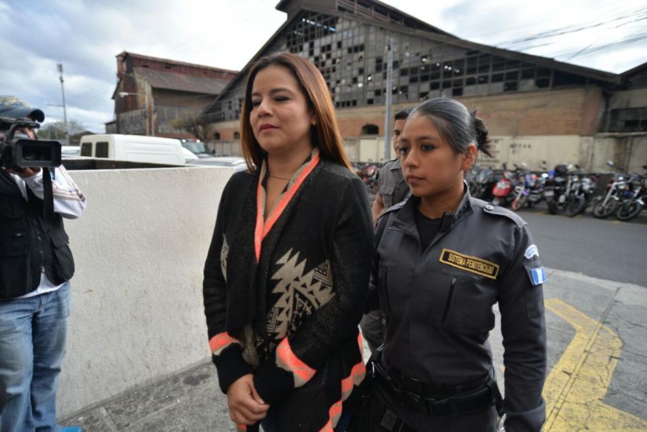 Claudia Méndez, exintendente de Aduanas, también guarda prisión por el caso La Línea. (Foto: Wilder López/Soy502)