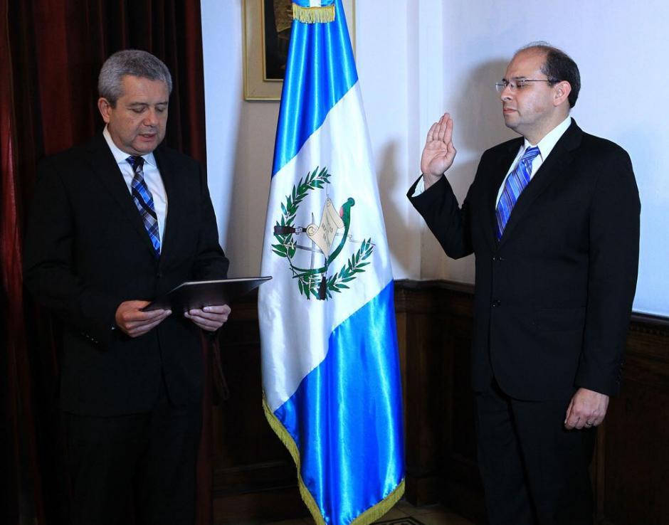 Será el nuevo Subsecretario de Cooperación Internacional de Segeplan. (Foto: Gobierno)