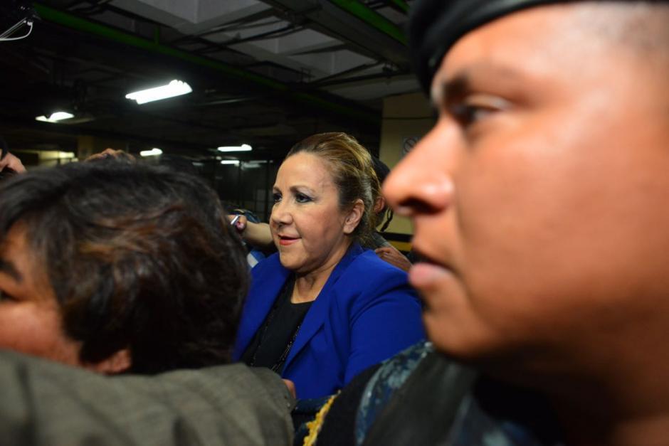 Blanca Stalling estará separada del cargo hasta que resuelva su situación legal o decida renunciar. (Foto: Jesús Alfonso/Soy502)