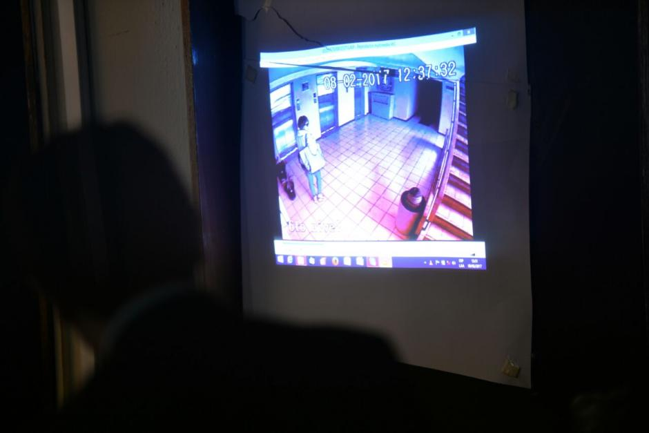 El video donde se observa a Stalling con peluca fue presentado ante el juez. (Foto: Wilder López/Soy502)