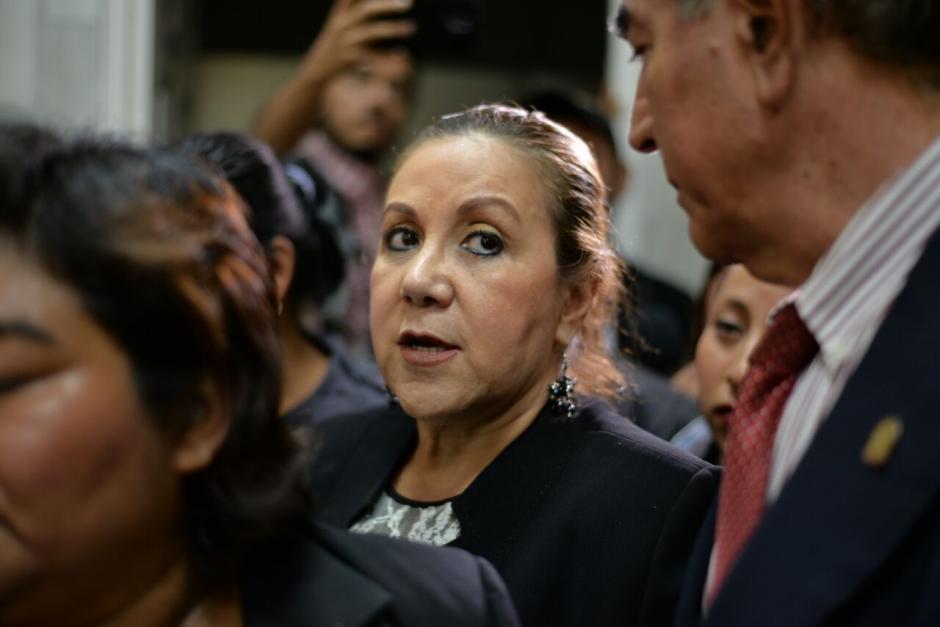 Así lucía Stalling en la audiencia de primera declaración. (Foto: Wilder López/Soy502)