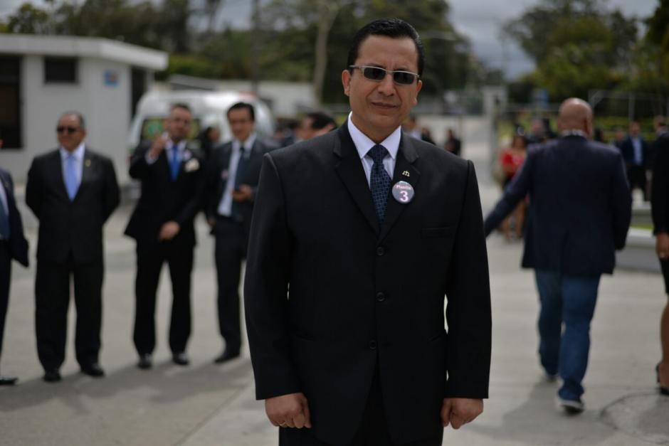 Luis Fernando Ruiz de la planilla 3 es candidato a presidente de la Junta Directiva.  (Foto: Wilder López/Soy502)