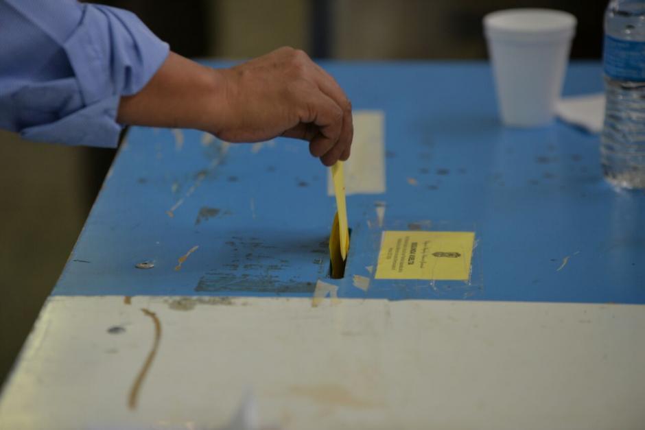 La segunda vuelta electoral del CANG se realiza este viernes. (Foto: Wilder López/Soy502)