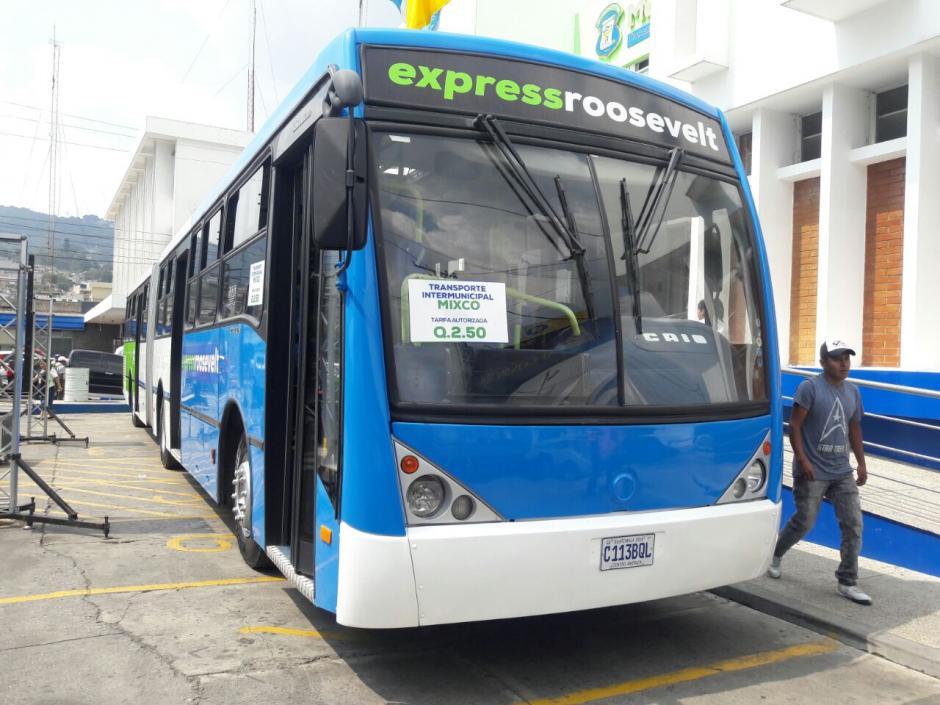 Se espera que este servicio transporte a unos 14 mil usuarios a diario. (Foto: Muni Mixco)