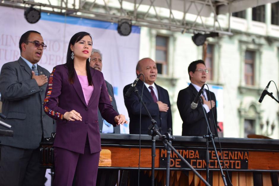 El evento busca promover los valores del instrumento nacional. (Foto: Jesús Alfonso/Soy502)