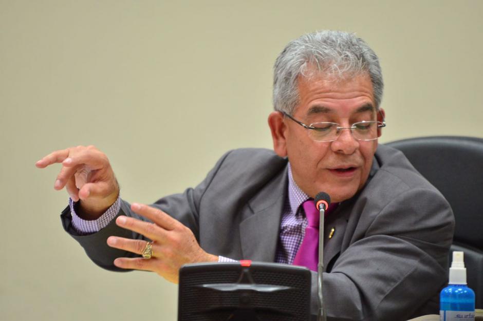 El juez Miguel Ángel Gálvez, suspendió la audiencia del caso La Línea. (Foto: Jesús Alfonso/Soy502)