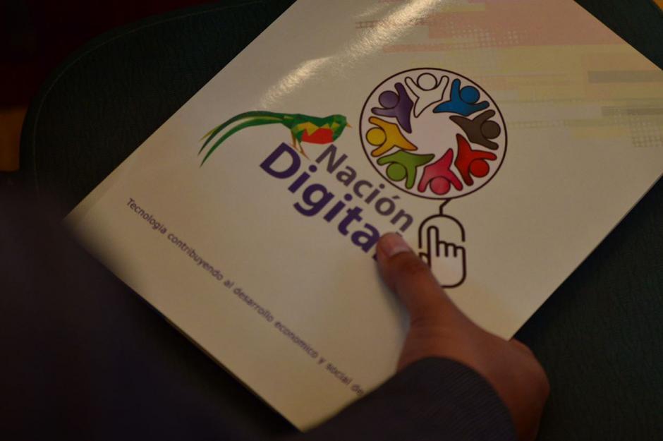 Este viernes e lanzó el programa Nación Digital. (Foto: Jesus Alfonso/Soy502)