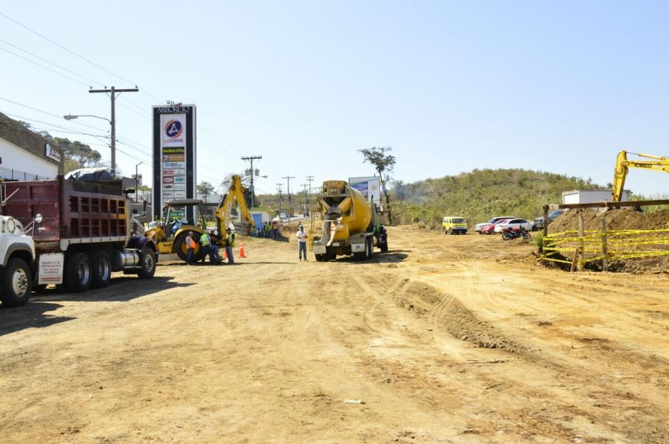 El proyecto espera beneficiar a más de cuatro mil automovilistas que circulan por la zona. (Foto: Muni Mixco)
