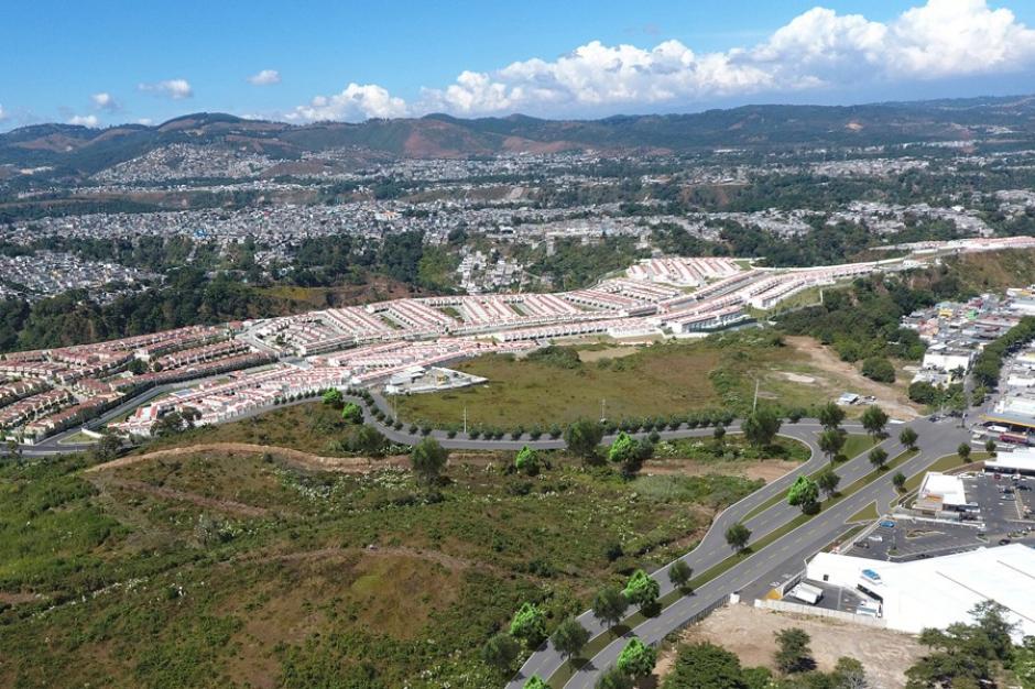 Así lucirá la ampliación de carriles que la municipalidad de Mixco inauguró recientemente. (Foto: Muni Mixco)