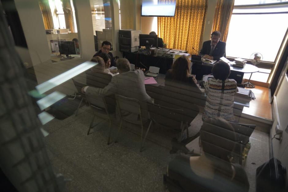 La audiencia de primera declaración del segundo caso contra Stalling no se realizó. (Foto: Wilder López/Soy502)