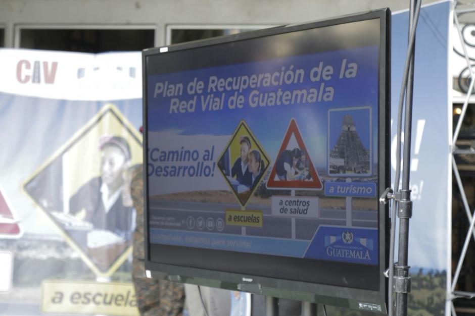 La red vial ayudará al desarrollo social del país.  (Foto: Alejandro Balán/Soy502)