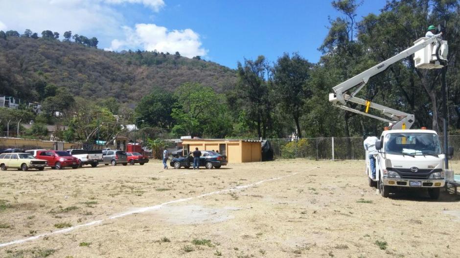 Habrá un parqueo disponible para los visitantes a la entrada de Antigua Guatemala. (Foto: RRPP Muni AG)
