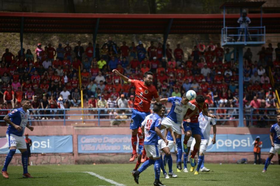 Jaime Alas fue el anotador del único gol. (Foto: Wilder López/Soy502)