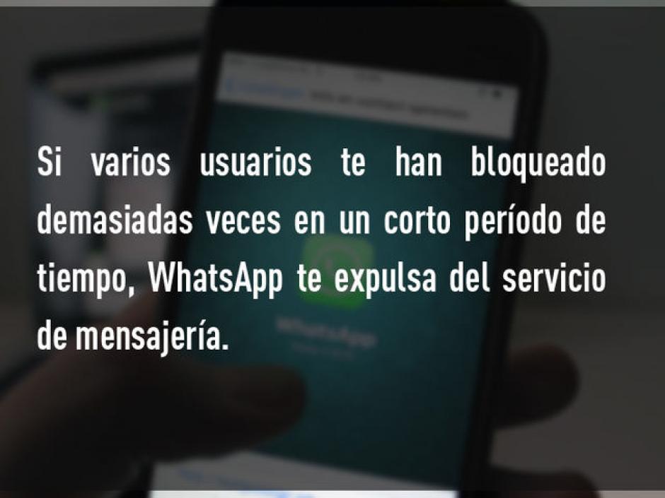 Que varios usuarios te bloqueen. (Foto: Rt)