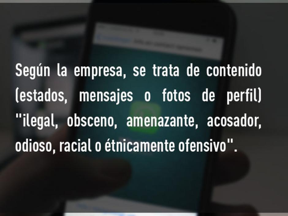Compartir contenido ilegal, como pornografía.  (Foto: Rt)