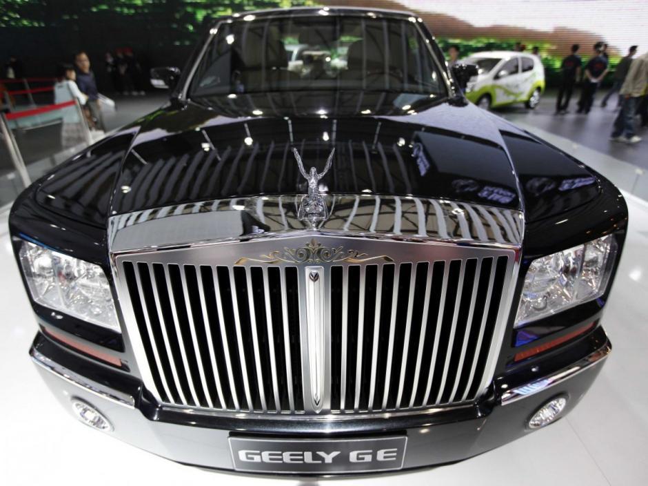 Geely GE  es una marca que imita muy bien un Rolls Royce Phantom (Foto: businessinsider.com)
