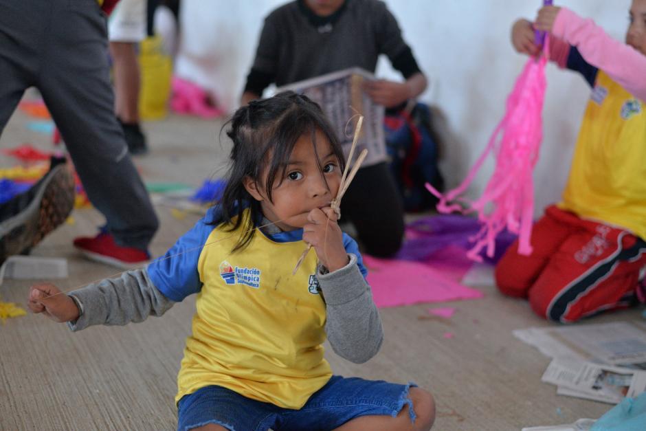 La Fundación Olímpica Guatemalteca atiende a 250 niños de áreas de riesgo. (Foto: Wilder López/Soy502)