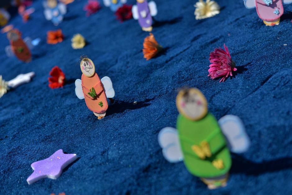 Los detalles de las alfombras fueron vistosos. (Foto: Wilder López/Soy502)