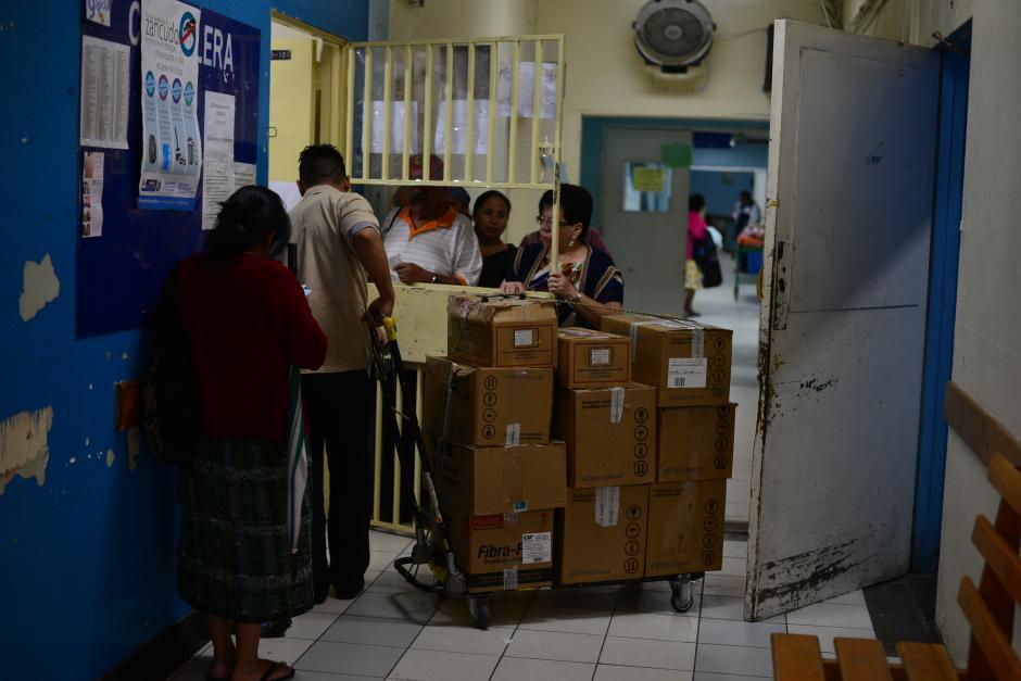 El grave desabastecimiento de los hospitales está complicando la atención mínima de cara a las últimas semanas del año.(Foto: Wilder López/Soy502)