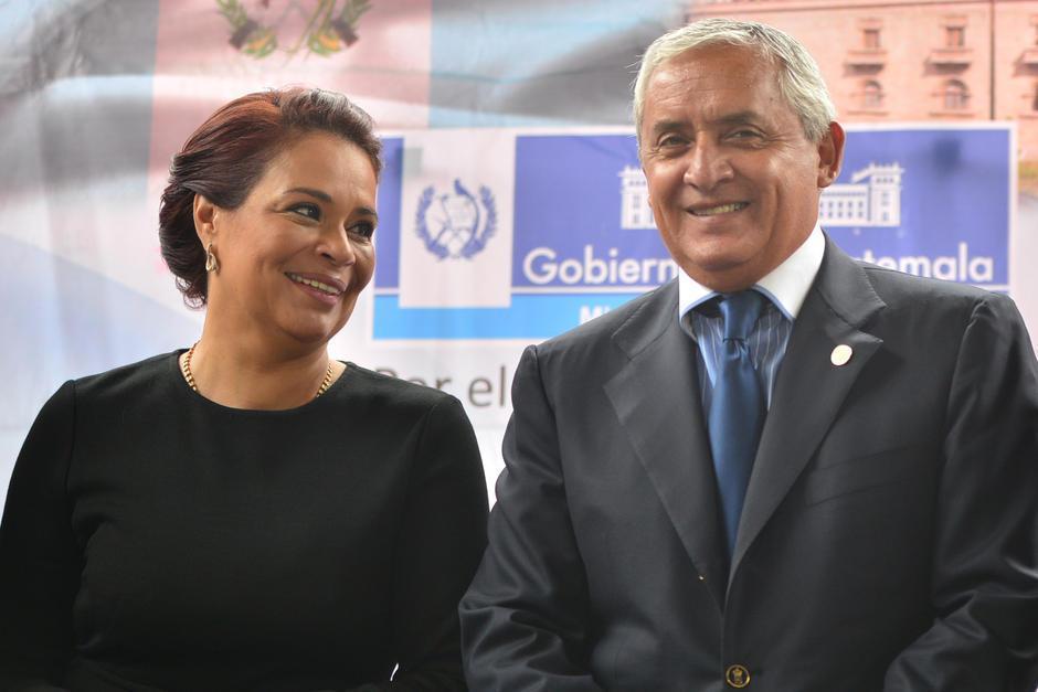 Roxana Baldetti y Otto Pérez Molina, implicados en el caso de corrupción llamada Cooptación del Estado. (Foto: Archivo/Soy502)
