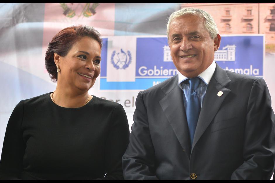 Otto Pérez Molina y Roxana Baldetti serían según el MP los cabecillas de la red de corrupción La Línea. (Foto: Archivo/Soy502)