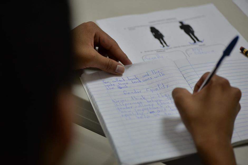 La equidad de género es un tema que se enseña en jóvenes. (Foto: Wilder López/Soy502)