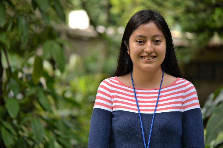 Alejandra Teleguario busca ayudar a su comunidad por medio del trabajo social. (Foto: Wilder López/Soy502)