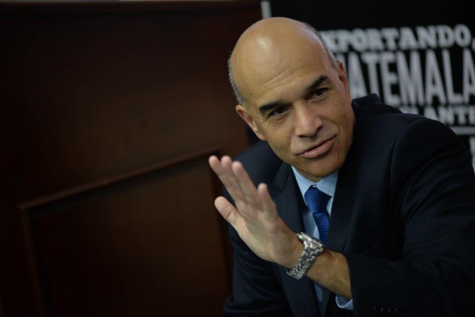 Amador Carballido es Director General de Agexport. (Foto: Wilder López/Soy502)