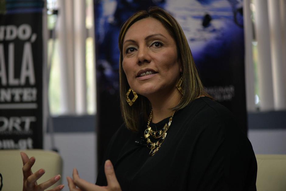 La secretaria del Comité de iCrea, Wendy García, dijo que hay mucho potencial en la industria musical en Guatemala.  (Foto: Wilder López/Soy502)