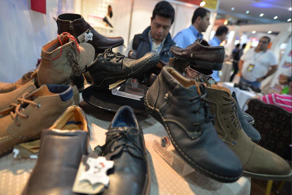 Expocalzado reúne a productores e importadores de la industria del calzado. (Foto: Wilder López/Soy502)