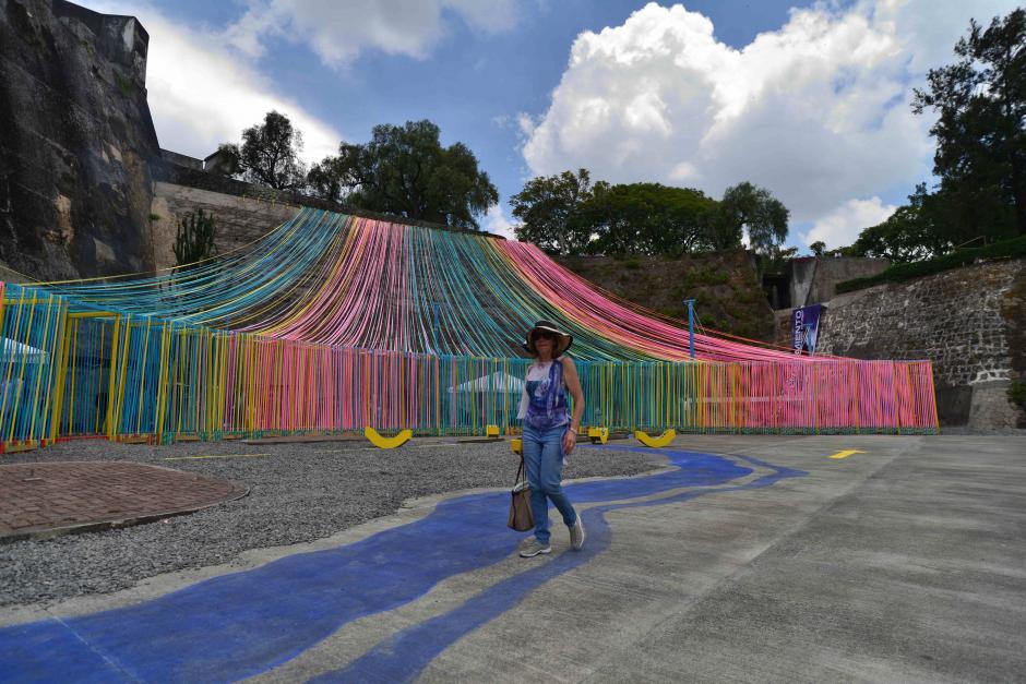 PlayAChomo se encuentra instalado en la Plaza de la Herradura. (Foto: Wilder López/Soy502)