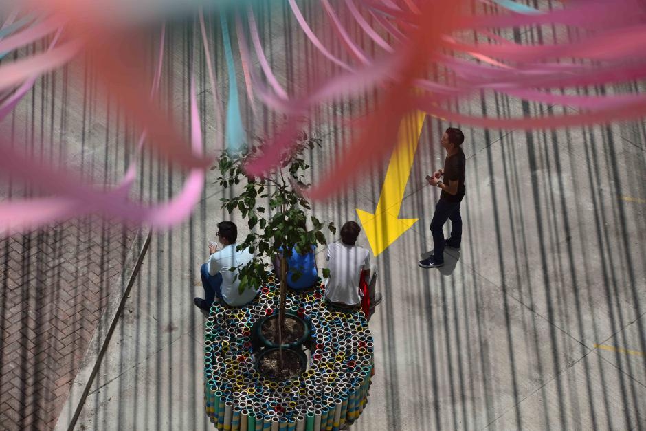 El proyecto es un colorido diseño arquitectónico. (Foto: Wilder López/Soy502)