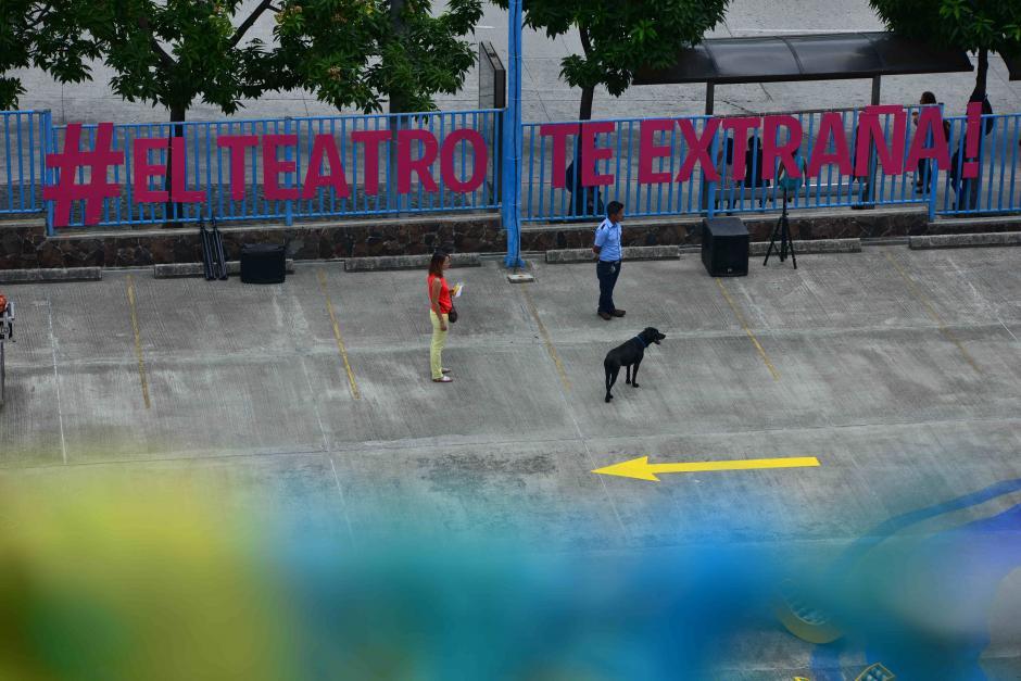 PlayAchomo es una propuesta de arte contemporáneo, público y efímero. (Foto: Wilder López/Soy502)