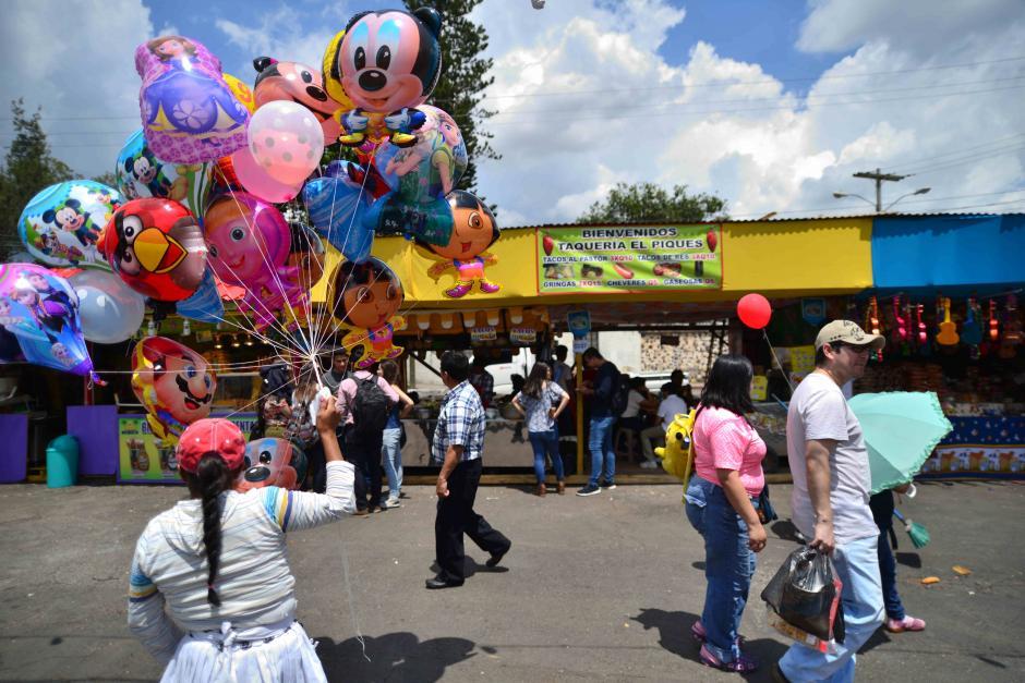 En la feria de Jocotenango podrás disfrutar de diversidad de platillos. (Foto: Wilder López/Soy502)