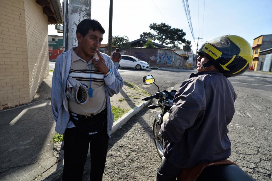 Rolando resalta por su don de comunicarse con los demás. (Foto: Wilder López/Soy502)