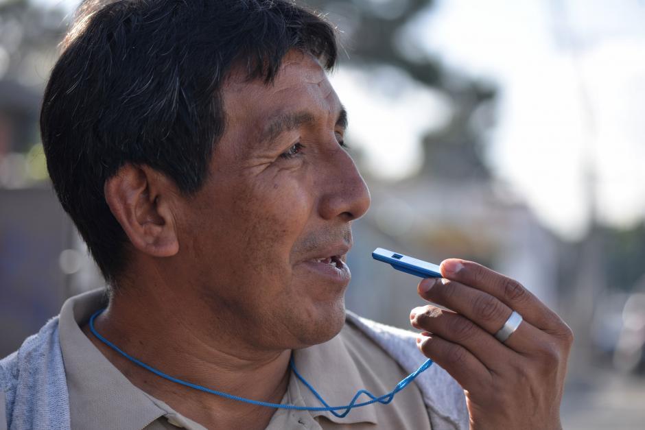Actualmente estudia un bachillerato por madurez por las tardes. (Foto: Wilder López/Soy502)