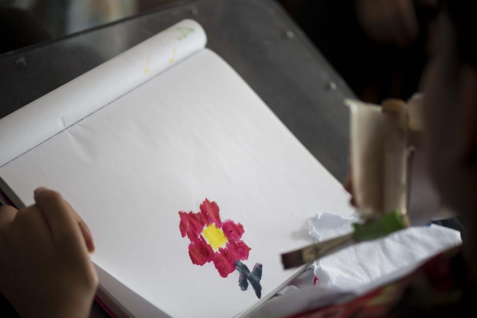 Esta es una muestra del trabajo que Andrea realiza. (Foto: Wilder López/Soy502)