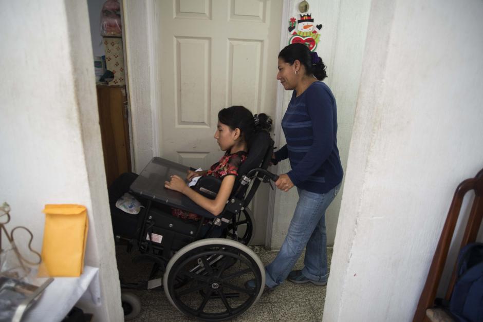 Andrea y Delmy forman un equipo que no conoce las limitaciones. (Foto: Wilder López/Soy502)