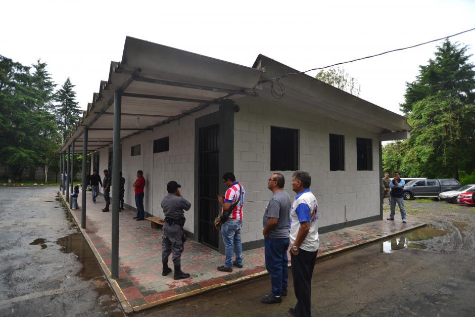 """Esta es la fachada del Sector """"B"""", donde están habilitadas otras carceletas de menor tamaño. (Foto: Wilder López/Soy502)"""