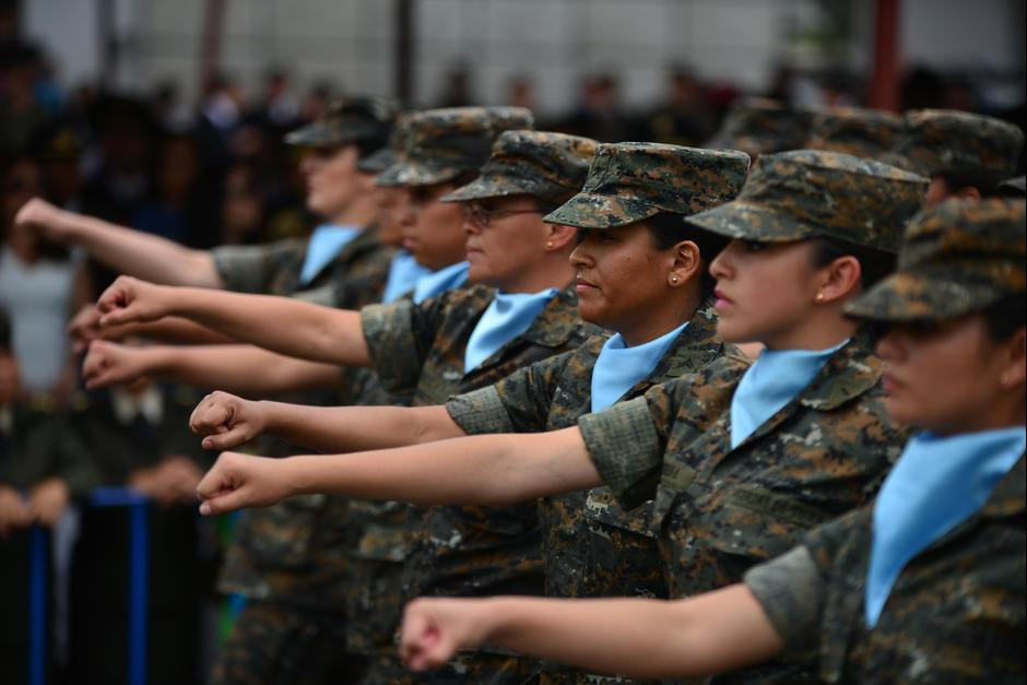 El equipo antidisturbios tiene varios años de estar en manos del ejercito. (Foto: Archivo/Soy502)