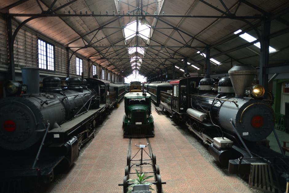 La presentación tuvo lugar en el Museo del Ferrocarril donde se exponen muestras de la historia del tren en Guatemala.(Foto: Wilder López/Soy502)