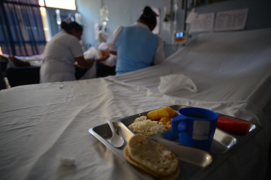 También la escasez afectó el suministro de alimentos a pacientes del hospital. (Foto: Wilder López/Soy502)