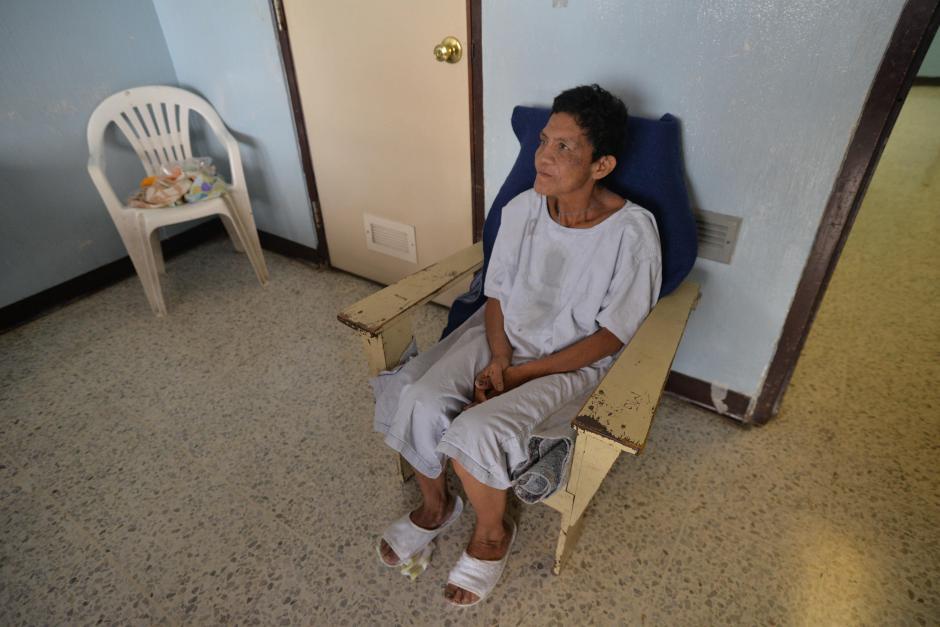 Esta paciente fue identificada como XX ya que no hay información certera de su nombre y procedencia. (Foto: Wilder López/Soy502)