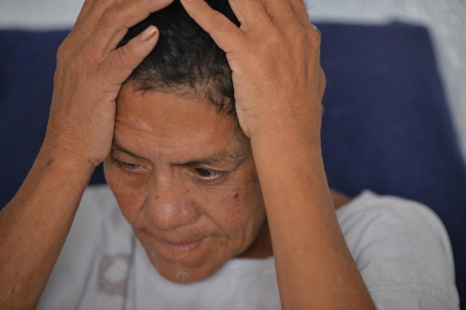 Ella fue ingresada al hospital luego de ser encontrada golpeada en la calle. (Foto: Wilder López/Soy502)