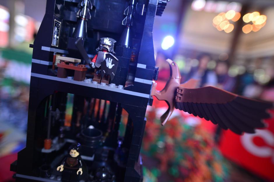 La Expobrick se presentó en la Casa del Té del zoológico La Aurora, en donde expusieron piezas de diversas películas y series animadas hechas completamente con LEGO. (Foto: Wilder López/Soy502)