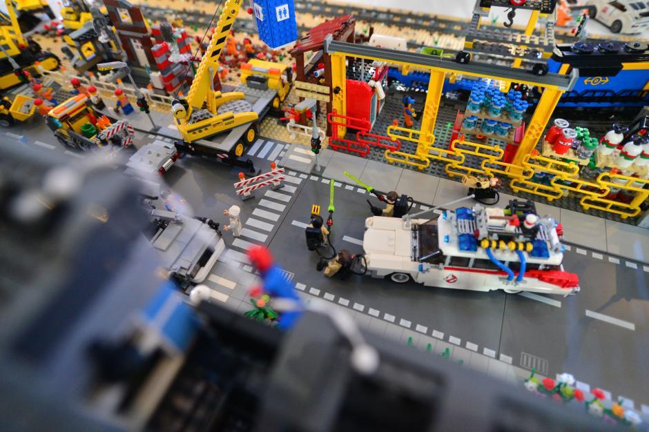 Aquí un pequeño vistazo a el caos de la ciudad LEGO en donde todo puede pasar. (Foto: Wilder López/Soy502)