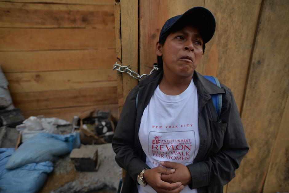 Elfida Crisóstomo es la madre de las dos jovencitas que murieron calcinadas. (Foto: Wilder López/Soy502)
