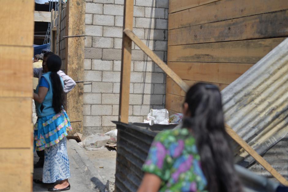 Este es el lugar en donde las jovencitas perdieron la vida. (Foto: Wilder López/Soy502)
