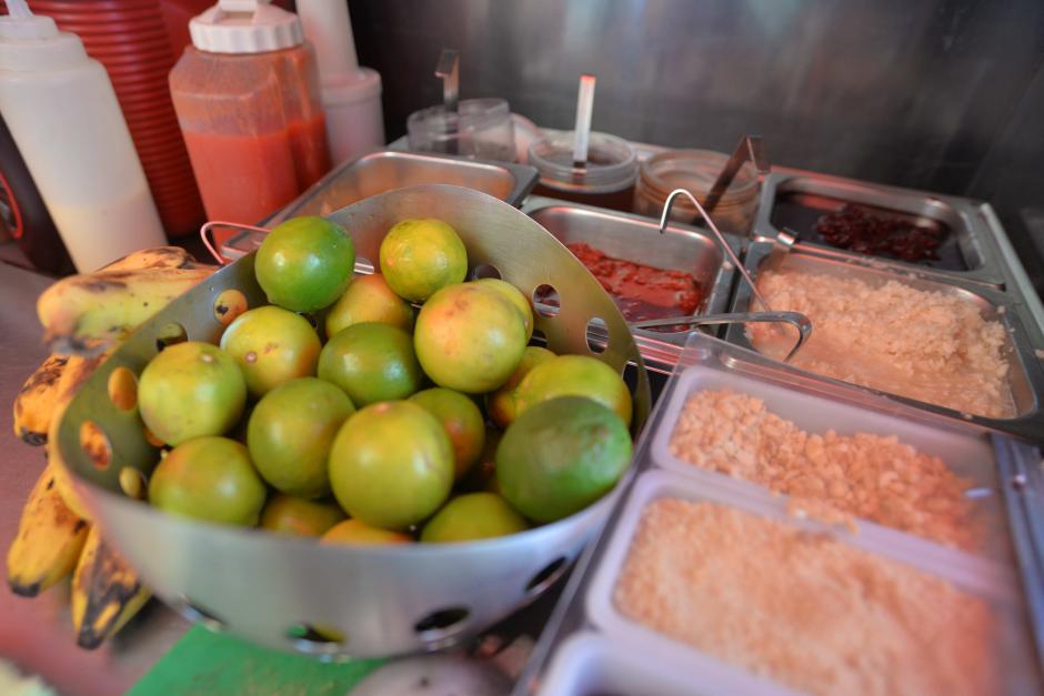 Ingredientes dulces y salados conforman la variedad de sabores. (Foto: Wilder López/Soy502)
