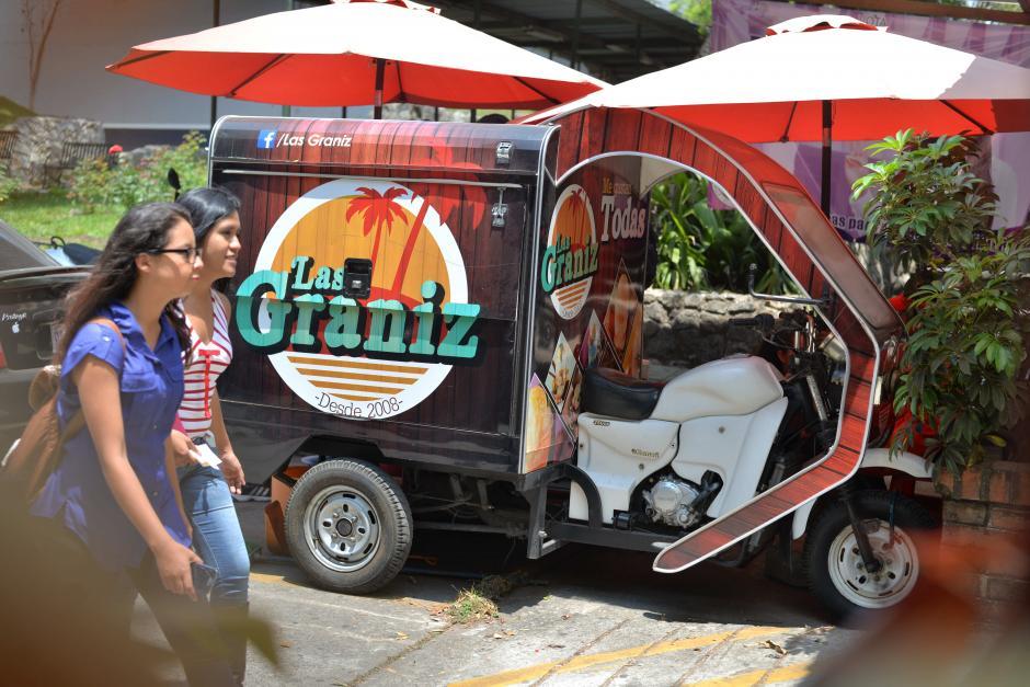 Las Graniz es un negocio que nació de una crisis de su creador y ahora es su fuente de ingresos. (Foto: Wilder López/Soy502)